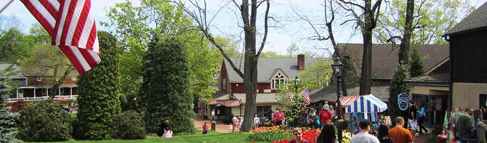 Peddler\'s Village in Yardley, Bucks County PA