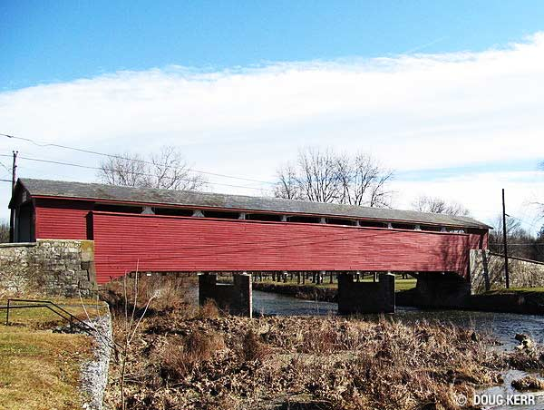 Covered Bridges Of Bucks And Hunterdon County And The